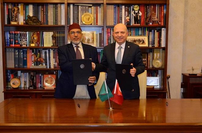 MoU was signed between IIUC & Ankara University of Turkey